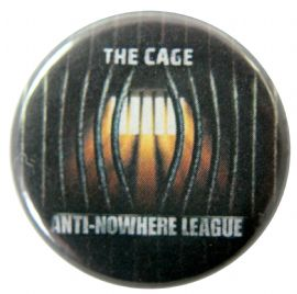Anti-Nowhere League - 'The Cage' Button Badge
